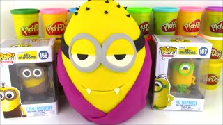 Giant Minion Movie Surprise Egg Gone Batty Vampire Minion with Surprise Toys
