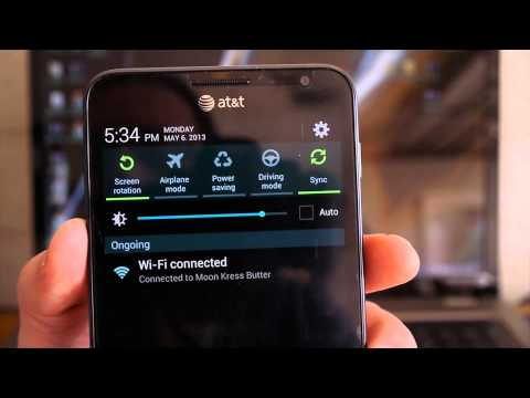Review: Official AT&T Jelly Bean 4.1.2 Update Galaxy Note i717