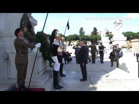 25 aprile 2012. Il Presidente Giorgio Napolitano