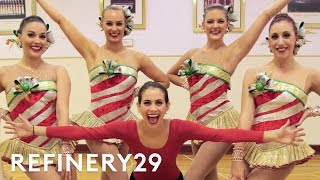 I Trained Like A Radio City Rockette Lucie For Hire Refinery29