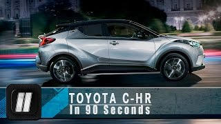 2hp: Toyota C-HR in 90 seconds.