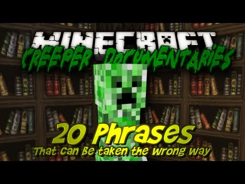 Minecraft Machinima - 20 Phrases that can be taken the Wrong Way ...