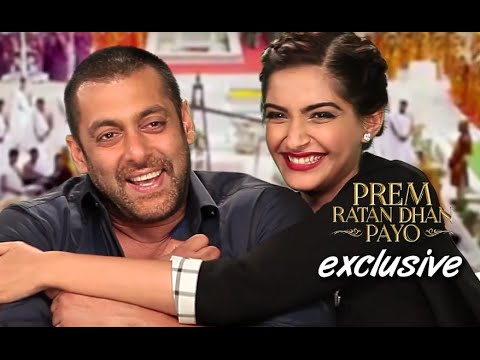 Salman Khan & Sonam Kapoor's Exclusive Interview with SpotboyE | Prem Ratan Dhan Payo