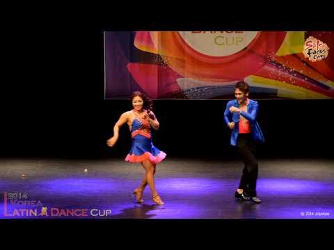김민욱 & 김현정 @ 2014 4th Korea Latin Dance Cup (Salsa Div. Amateur) 2014