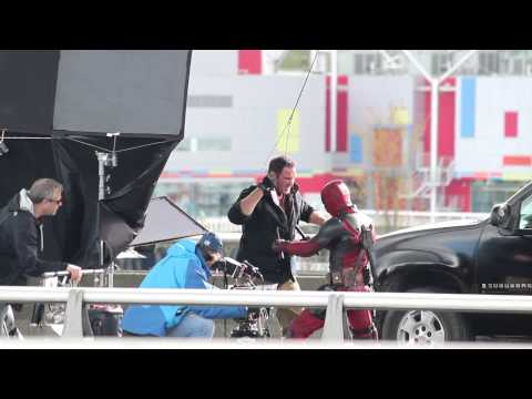 Just another lunch break - Deadpool Filming 2 of 4