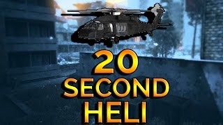 20 SECOND MWR HELICOPTER!