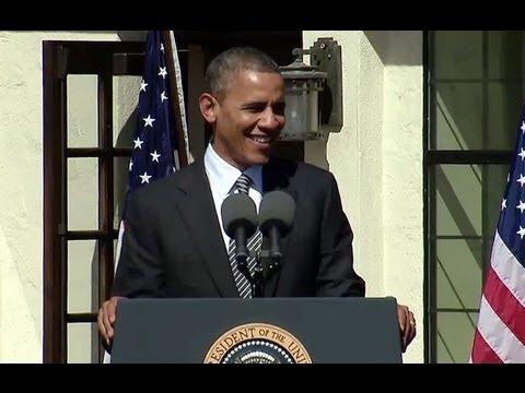 President Obama Speaks at the Dedication of the Cesar Chavez National Monument