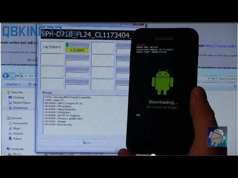 How to Root the Samsung Epic 4G Touch on FL24 ICS Latest