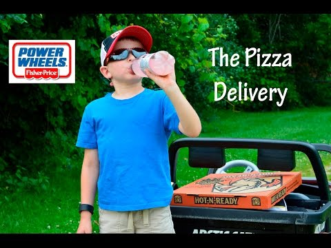 Little Heroes Pizza Delivery Power Wheels Jeep Artic Cat