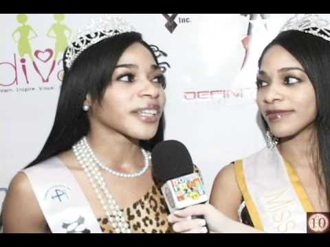 Circle Ten Media interviews the Barbie Twins Delpha Clarke and Delerice