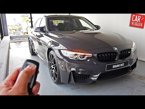 INSIDE the NEW BMW M3 Competition Package 2017 | Interior Exterior DETAILS w/ Revs streaming vf