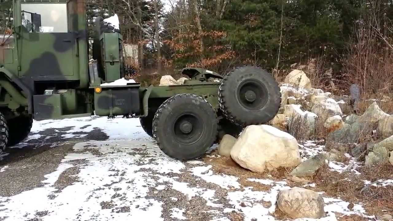 AM General M931 5 Ton Tractor Military Light Offroading ...
