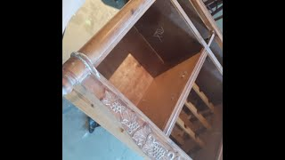 DIY Painted Wine Cabinet - Upcycle -Part 3 Painting and detailing