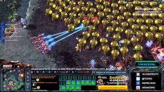 ZERGTV 2x2 + Мишаня и угарный ладдер - StarCraft 2 c ZERGTV