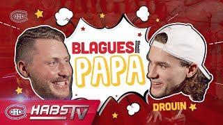 Nicolas Deslauriers and Jonathan Drouin tell dad jokes
