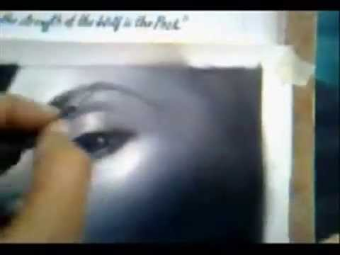 Kate Winslet Painting Part 3 Final - .3gp video