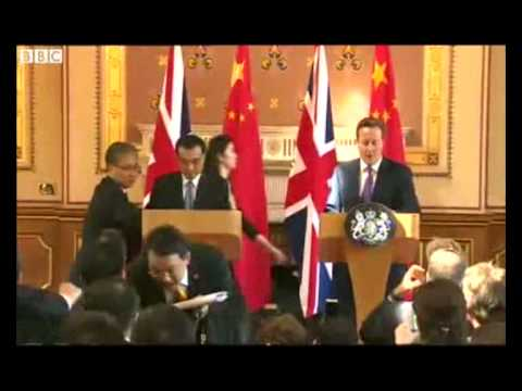UK and China sign a deal worth more than $23 bn
