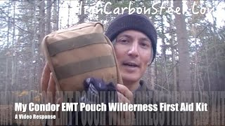 My Condor EMT Pouch Wilderness First Aid Kit - A  Response