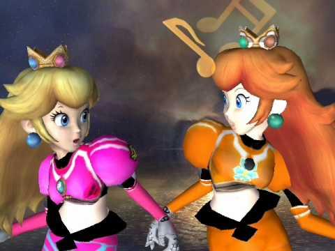 peach & Daisy Best friends