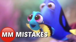Finding Dory Movie MISTAKES You Didn't See | Finding Dory Movie