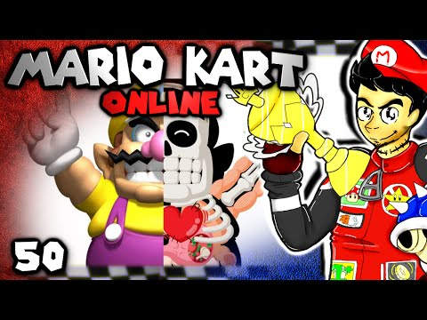 The Anatomy of an Idiot (Mario Kart 8 Online: The Derp Crew - Part 50)