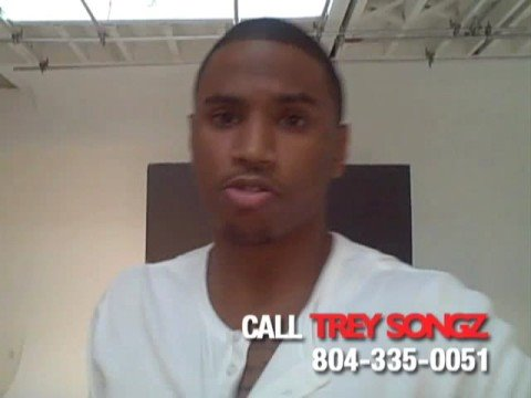 Trey Songz Fanzine Photo Shoot
