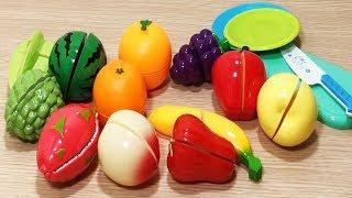 Đồ chơi trẻ em CẮT TRÁI CÂY, RAU CỦ rất vui, bé học nấu bếp - Cutting vegetables toys (Chim Xinh)