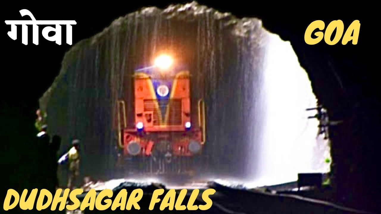 Goa Train Waterfall Goa Monsoon Train Through