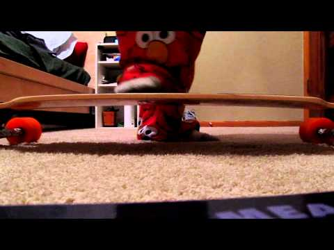 Loaded Tan Tien longboard flex test (flex 2)