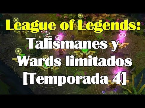 Talismanes y Wards LIMITADOS [Temporada 2014] de League of Legends
