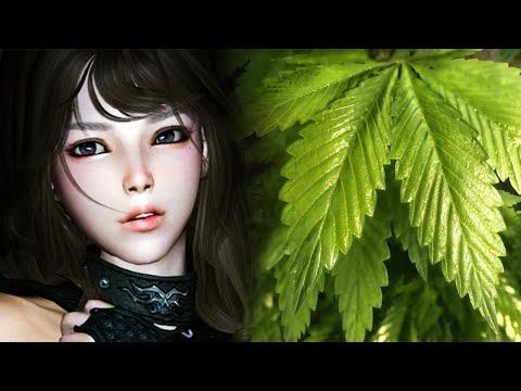 Skyrim Mods - Week 147 - Tania The Cutest Elf Evar And Weed video