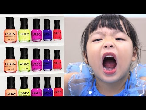 Learn Colors with Nail Art designs Colors for kids nursery rhymes Baby songs for children