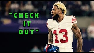 "Odell Beckham Jr. Highlights || ""Check it Out"" 