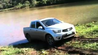 SsangYong Actyon Sports 2013 no Barro