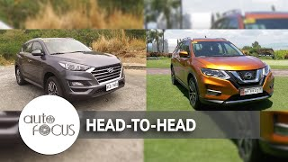 Auto Focus | Head to Head: Hyundai Tucson  Vs. Nissan X-Trail