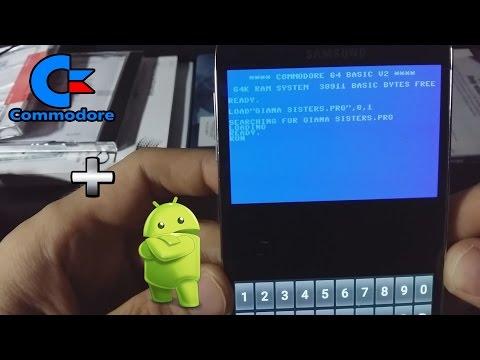Jak Zainstalować Emulator C64 Na Android ? Granie Na Telefonie W Gry Commodore 64 ?