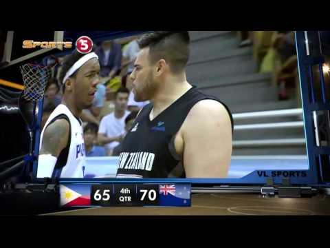JONES CUP: Philippines vs. New Zealand - Q4