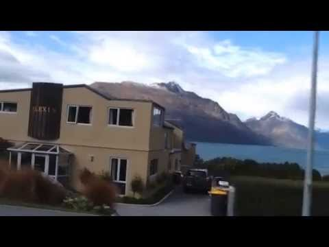 Bus view to Queenstown airport (2)