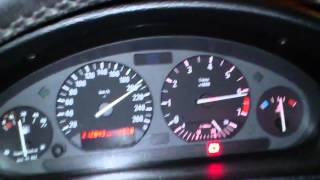 BMW 2.0 e36 320i 0-100 0-200 top speed