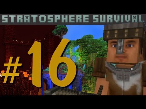Minecraft - Stratosphere Survival с Карном. Часть 16