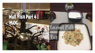 Aiyamma Special Coconut Milk Rice | VLOG | Northbrook Court | அய்யம்மா ஸ்பெஷல் தேங்காய் பால் சாதம்