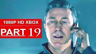 Quantum Break Gameplay Walkthrough Part 19 [1080p HD Xbox One] - No Commentary