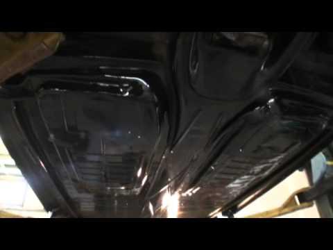 Classic VW Beetle How to Rust Proof Undercoat POR-15 a Volkswagen Bug