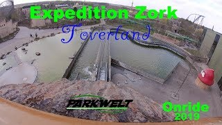 Expedition Zork - Toverland - POV Onride - Log Flume - 2019 - Parkwelt