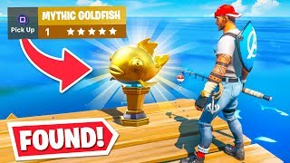 *WORLDS FIRST* MYTHIC Goldfish FOUND! (0.000001% Chance)