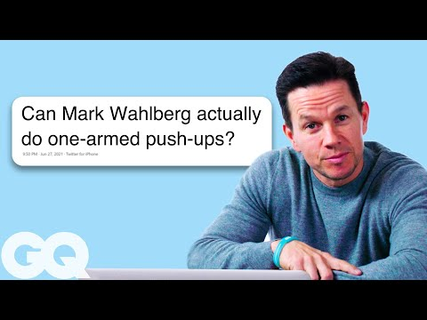 Mark Wahlberg Goes Undercover on Twitter, Facebook, Quora, and Reddit | Actually Me | GQ