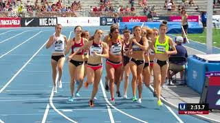 Shelby Houlihan Wins 1500-Meter National Title
