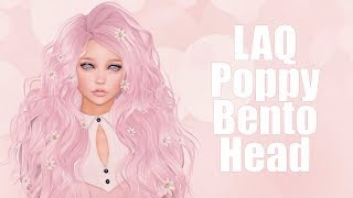 LAQ Poppy Bento Mesh Head in Second Life