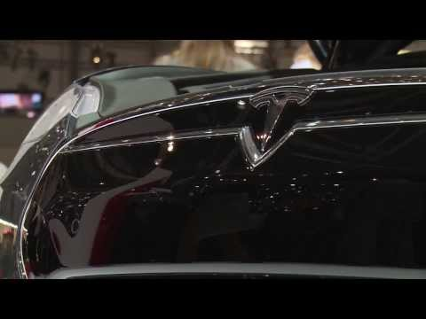 Live from Geneva 2014 - Tesla Model S