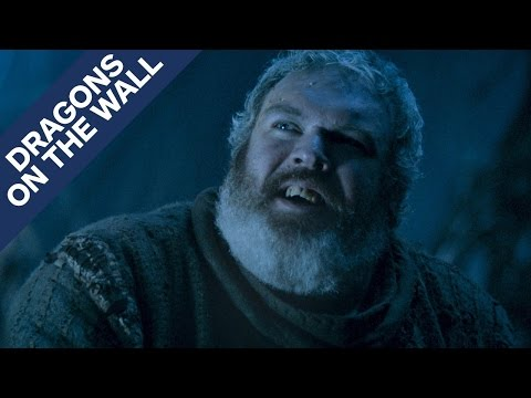 Game of Thrones - How the Hodor Reveal Affects Things Moving Forward - Dragons on the Wall